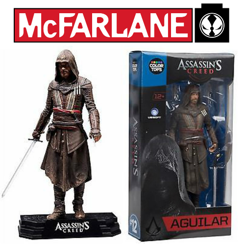 Aguilar Assassin S Creed Mcfarlane 7 Action Figure Milton Wares