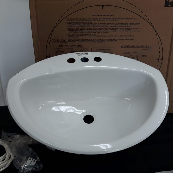crane bathroom sinks crane 1306v100 d shape drop in white bathroom sink 12578