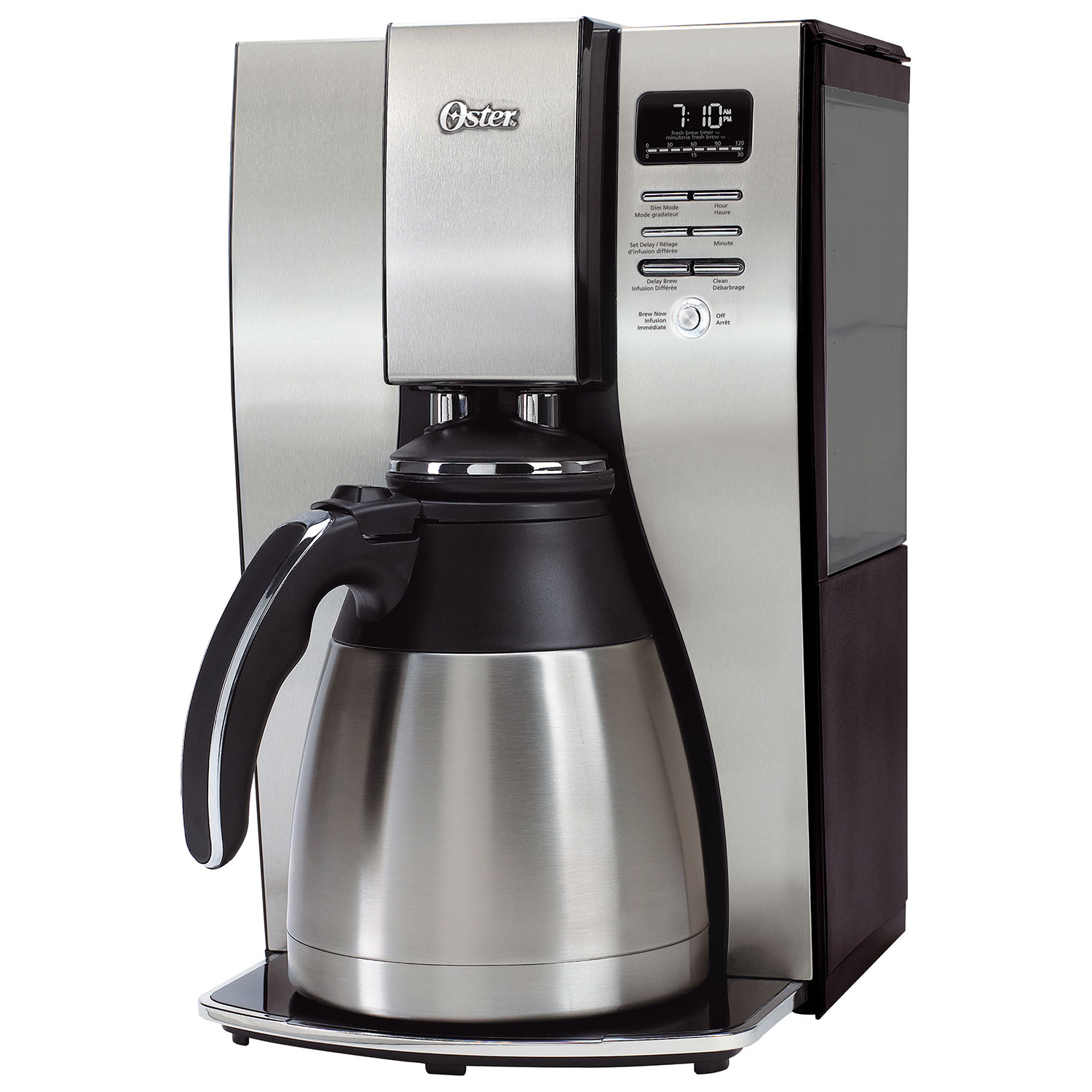 rfb oster thermal 10-cup coffee maker (bvstpstx95-033) – stainless