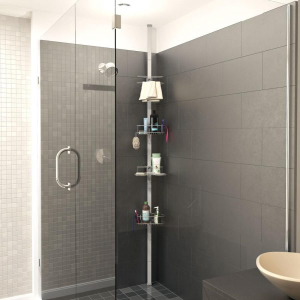 OB Tension Shower Caddy missing rubber ends for floor and ceiling ...