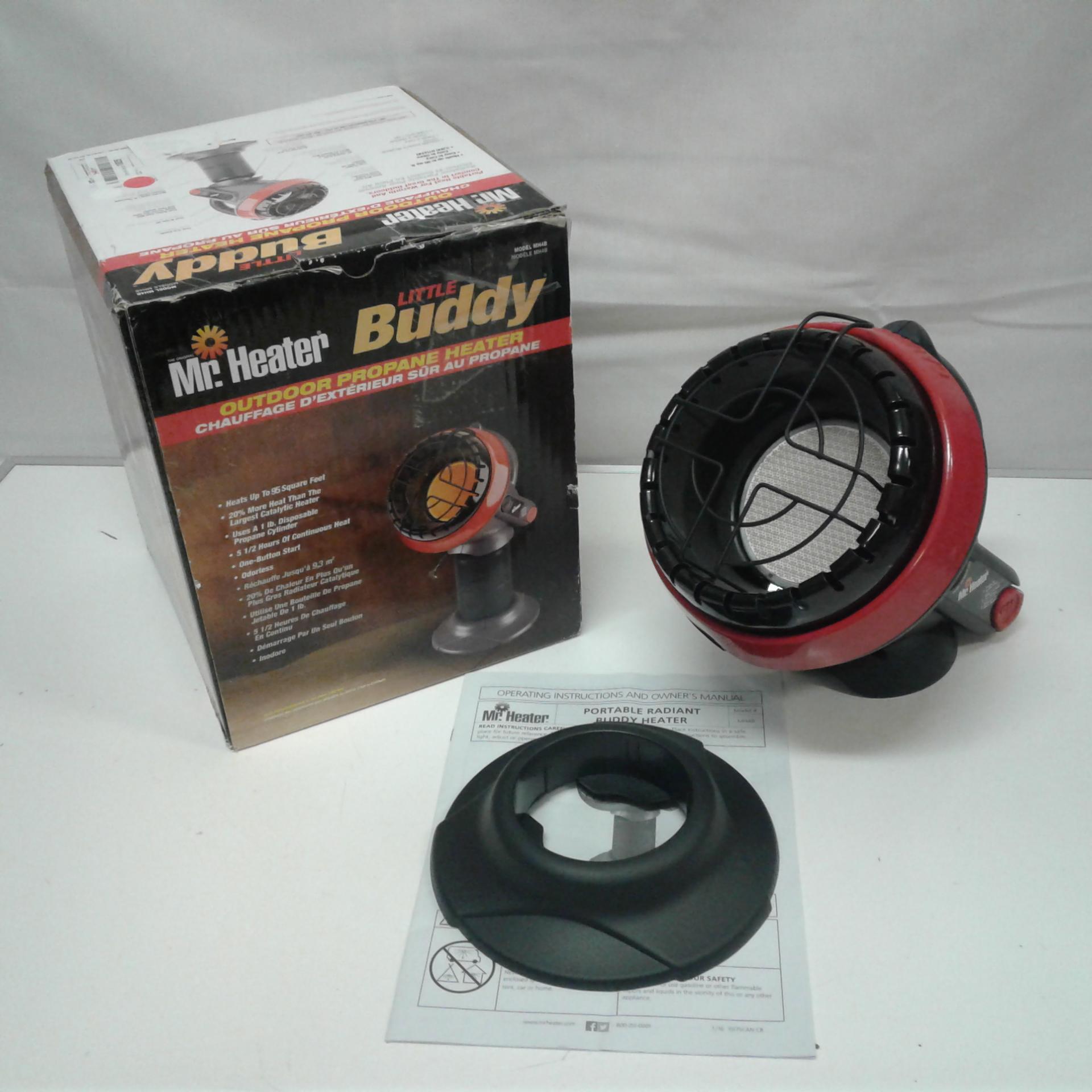 Mr Heater Little Buddy Outdoor Propane Heater MH4B