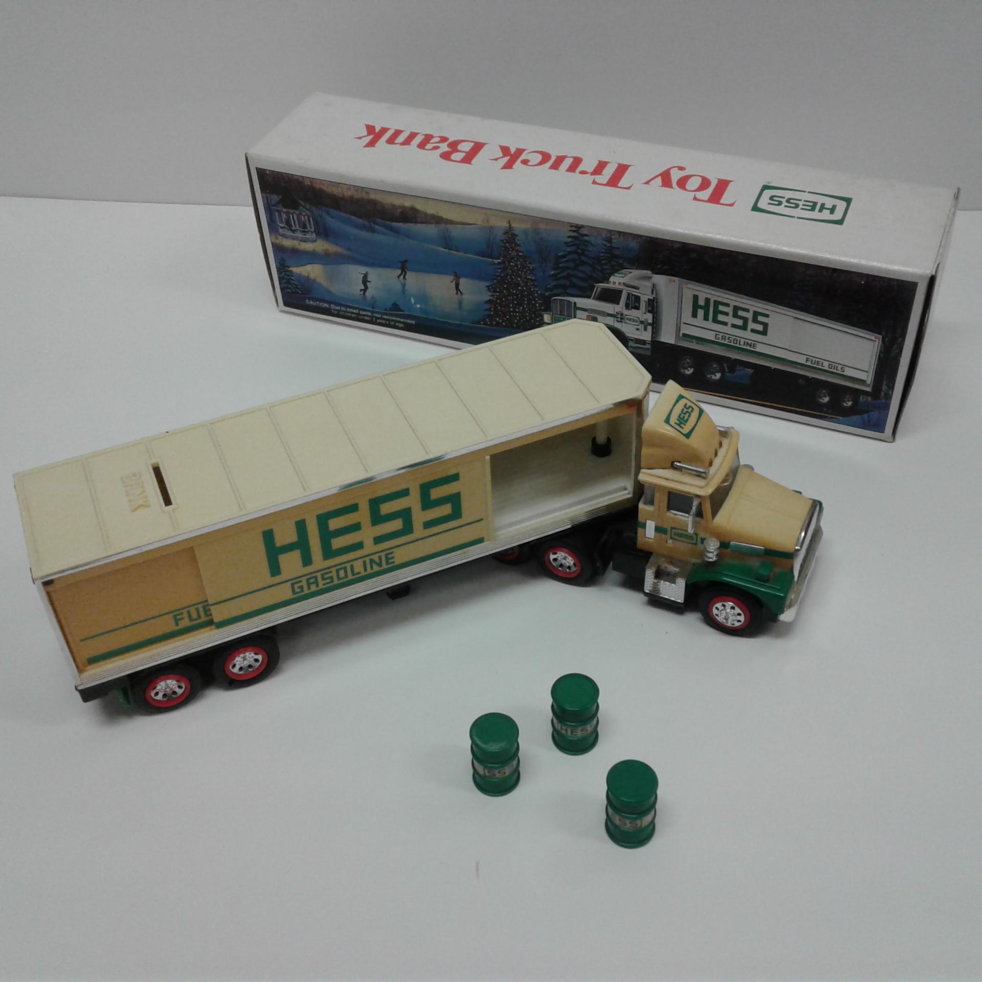 Hess Toy Truck Bank 1987 Vintage Ebay