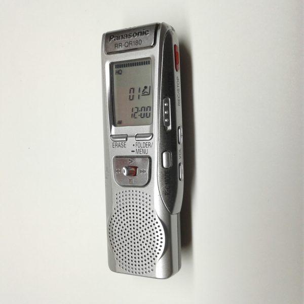 panasonic rr qr180 portable digital voice recorder milton rh miltonwares com