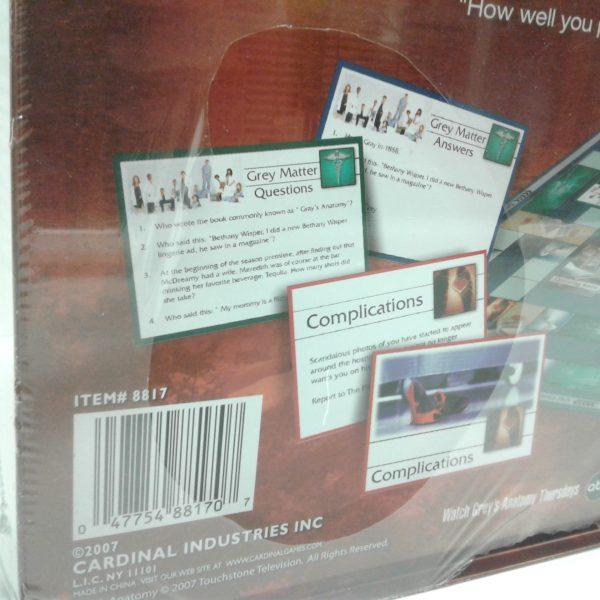 Grey S Anatomy Trivia Board Game Milton Wares