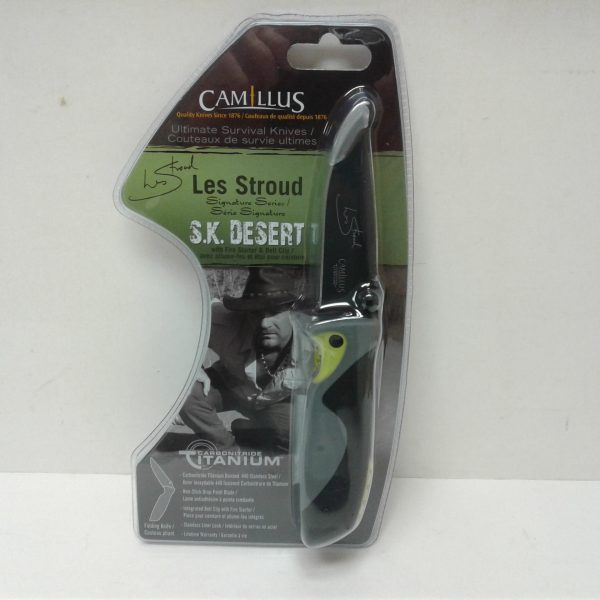 Camillus Les Stroud SK Desert Folding Knife Grey
