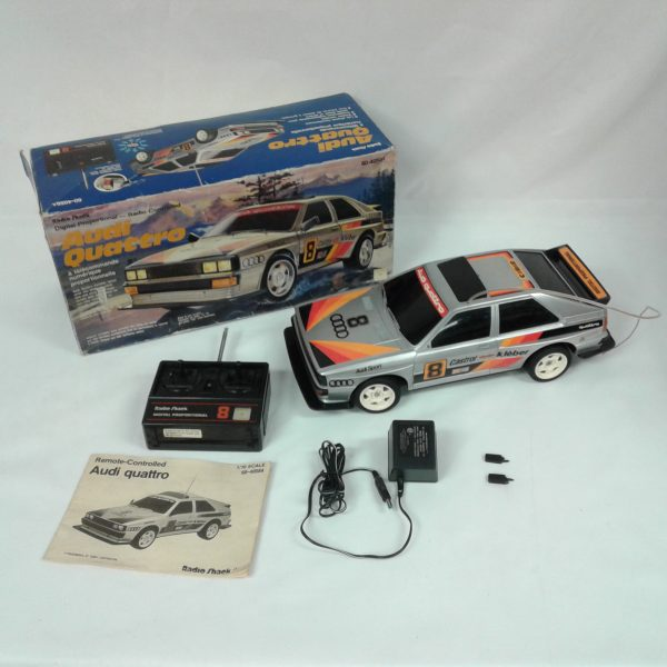 1985 Radio Shack RC Audi Quattro Radio Control Car