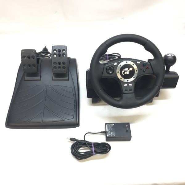 Logitech Driving Force Pro Force Feedback Wheel Playstation 2