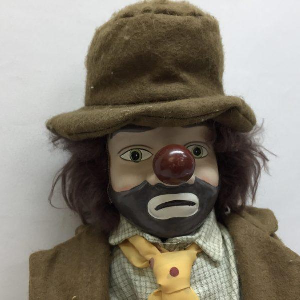 Clown Hobo Doll 18 Inch - Milton Wares